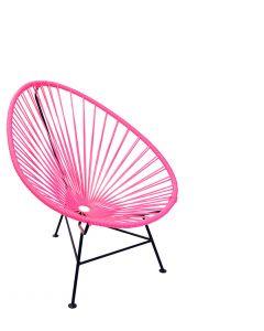 silla caribe kids tejido en vinil y metal