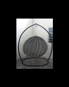 Columpio esfera de piso en acero y pc