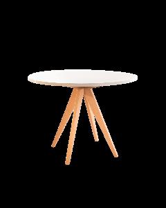 Mesa frank en mdf y pata de madera 1x76