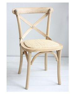 silla crossback kids madera natural