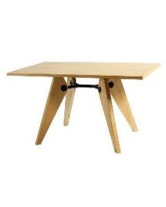 Mesa  ley de  madera  130x80x75